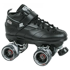 Sure-Grip Rock GT-50 Quad Derby Roller Skates - Black